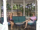 Amy Johnson Marquet and Kristi Cies