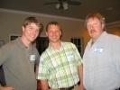 Robert Blissitt, Mike Ruditys and Bryan Conkling