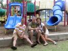 Mike Ruditys, Danny Rhodey and Tiffany Pelton Cosme