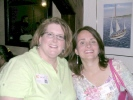 Janice Lockhart and Kim Clinton Chopp