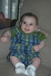 Luke Nassief at 4 1/2 months