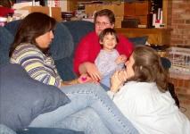 Christine Tee Stewart, Fern & Meg Stephens  & Allison Barnes