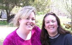 Kathy & Kristin on Easter